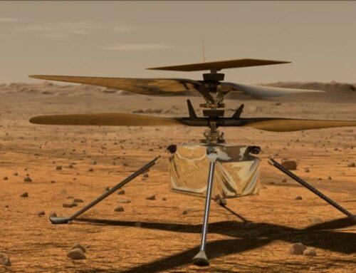 Primer vuelo en Marte